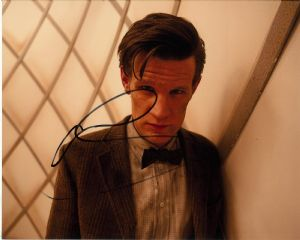 "Matt Smith, ""11th Doctor"" DOCTOR WHO Genuine Signed Autograph 11068"